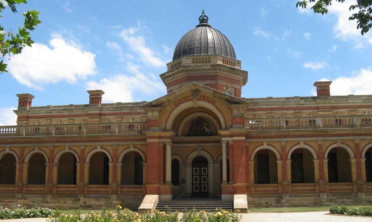 Goulburn Courthouse designed by Colonial Architect, James Barnet. Photo: Peter de Waal