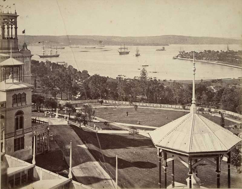 The Garden Palace, Sydney, 1879. Image: NSW State Library collection. Reproduction: Peter de Waal