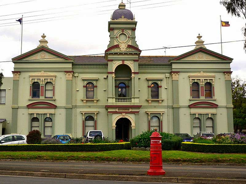 Randwick Town Hall, 3 Nov 2014. Image: Wikimedia Commons. Reproduction Peter de Waal